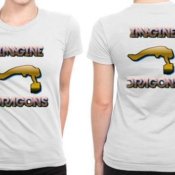 Imagine Dragons Fly People B 2 Sided Womens T Shirt
