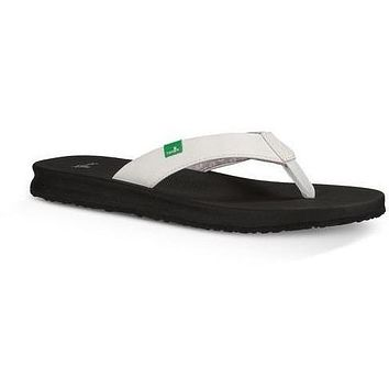 SANUK YOGA MAT WANDER -White Women's Sandals