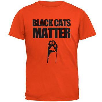 Halloween Black Cats Matter Mens T Shirt