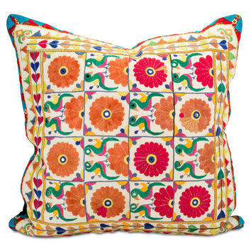 Kochi Embroidered Pillow