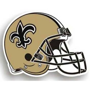 New Orleans Saints NFL 12 Car Magnet