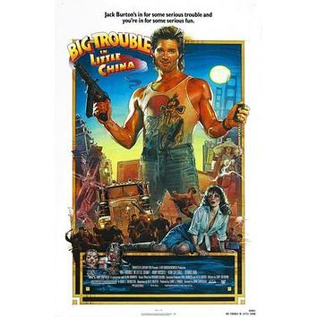 Big Trouble In Little China Movie Poster 11 inch x 17 inch poster