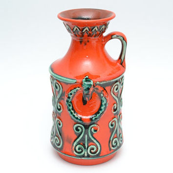 German Ü-Keramik vase (Uebelacker)  - 1682/21