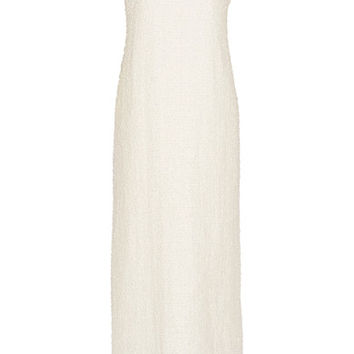 The Row - Linen-blend bouclé gown