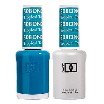 DND - Gel & Lacquer - Tropical Teal - #508