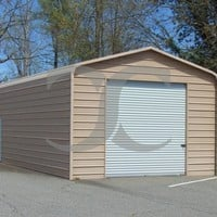 Garage | Regular Roof | 18W x 31L x 10H | Metal Garage