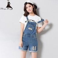 2017 New Elegant jeans Shorts for women summer vintage sexy denim shorts overall Ladies Denim Girls Shorts Jeans with Pokets