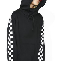 Checkmate Masked Hoodie Dress