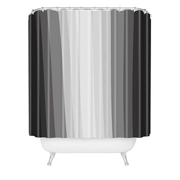 Lisa Argyropoulos Gray Matter Shower Curtain