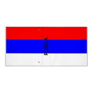 Binder with Flag of Russia