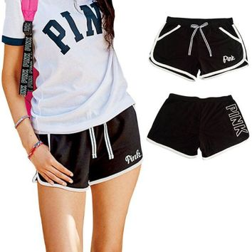 Gotopfashion Victoria's secret PINK  Pro Women Workout Gear Shorts