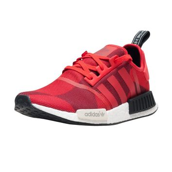 Adidas NMD R1 Red Geometric Camo S79164 Mens Boost 100% AUTHENTIC Yezzy DS USA