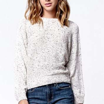 Kendall & Kylie Cocoon Sweater - Womens Sweater - White