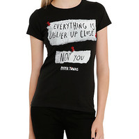Paper Towns Uglier Up Close Girls T-Shirt