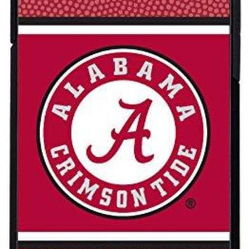 NCAA Alabama Crimson Tide Football Pebble Grain Feel iPhone 6 Case, One Size, Red
