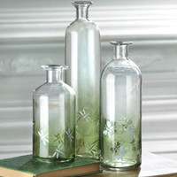 Apothecary Style Glass Bottle Combo