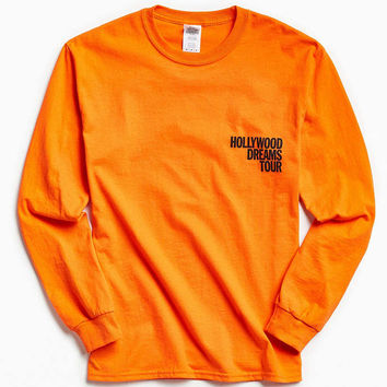 Post Malone Hollywood Dreams Tour Long Sleeve Tee - Urban Outfitters