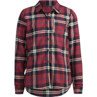 Full Tilt Plaid Girls Flannel Shirt Navy Combo  In Sizes