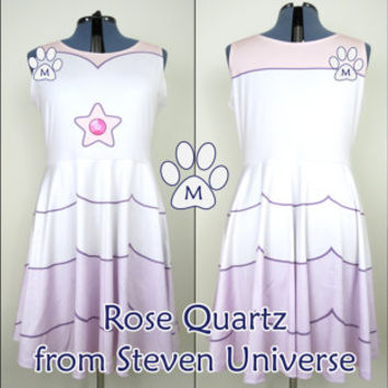 Rose Quartz (SU) Skater Dress