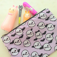 Sharodactyl Ghost Cosmetic Bag