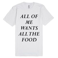 Foodie logic-Female Snow T-Shirt