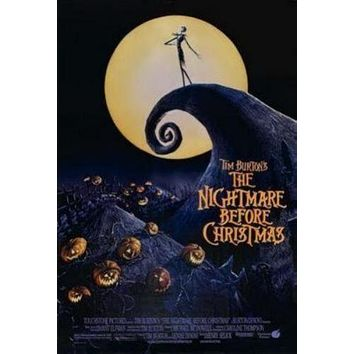 Nightmare Before Christmas Movie Poster 11inx17in Print Art 11 inch x 17 inch