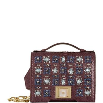 Andrew Gn Mini Brief Embellished Cross Body Bag | Harrods.com