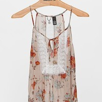 BKE Boutique Floral Print Tank Top