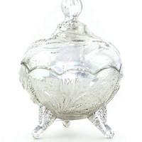 Heirloom Mercury Glass Candy Dish