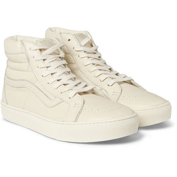 Vans - SK8-Hi Cup CA Leather High-Top Sneakers | MR PORTER