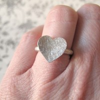 Amour silver by masaoms on Etsy