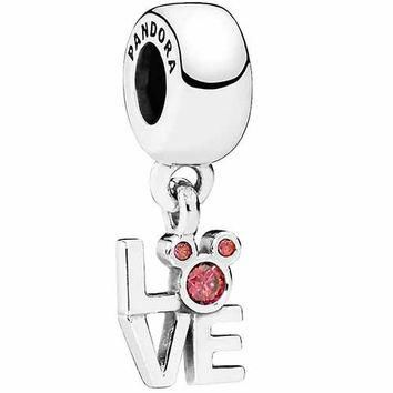Authentic Pandora Jewelry - DISNEY LOVE Mickey