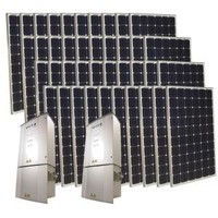Grape Solar, 10,000-Watt Monocrystalline PV Grid-Tied Solar Power Kit, GS-10K-KIT at The Home Depot - Mobile