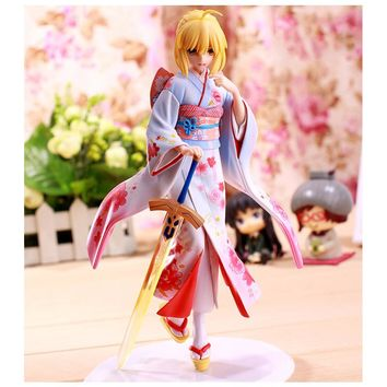 Fate Stay Night Kimono Anime Action Figure