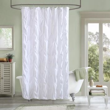 Better Homes and Gardens Pintuck Shower Curtain - Walmart.com