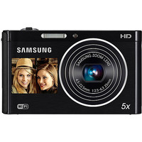 "Walmart: Samsung DV300F Black 16MP DualView Digital Camera w/ 5x Optical Zoom, 3.0"" Back and 1.5"" Front Displays, WiFi Connectivity"