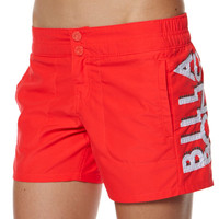 BILLABONG WASHAWAY BOARDSHORT - RED HOT