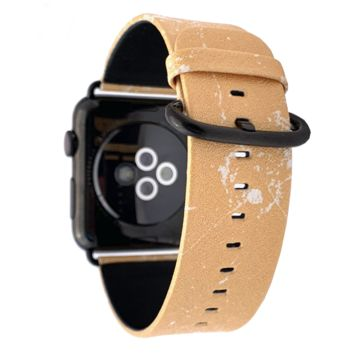 40mm & 38mm Vegan Leather Apple Watch Band - Mimosa