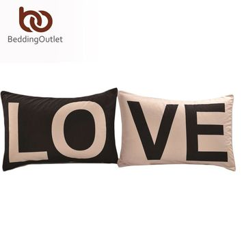 Promotion Love Together Pillowcase New Year Gifts Decorative Covers 20inchx30inch Body Pillow Case Home Bedding Valentine's Gift