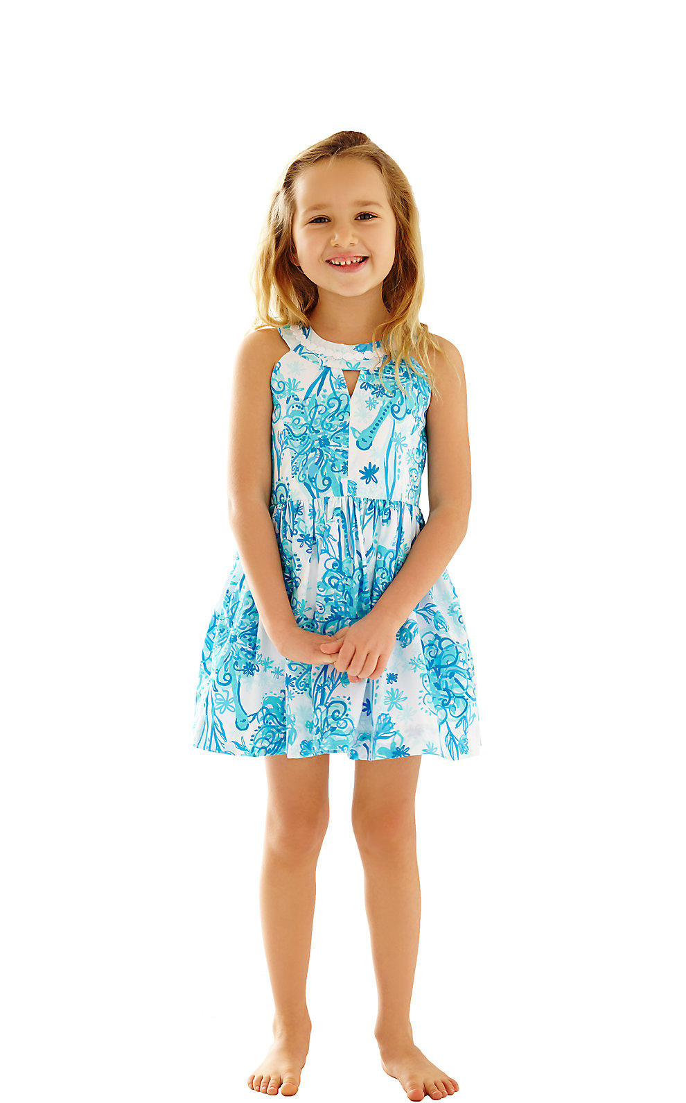 41aa1276ef Lilly Pulitzer Girls Claude Fit   Flare from Lilly Pulitzer