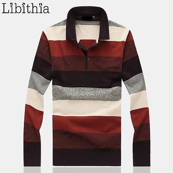 Mens Wool Sweaters Striped Patterns Square Collar Brand Designer Winter Clothing Blusa Masculina Sueter Big Size M-8XL J093
