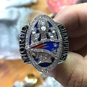 Drop Shipping  2016  New England Patriots Super Bowl offical Championship Ring