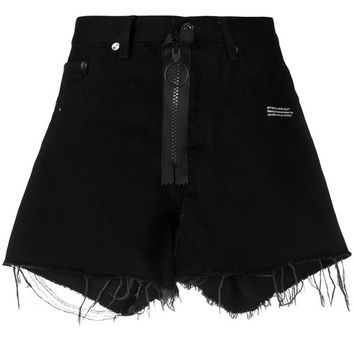 Off-White Denim Shorts - Farfetch