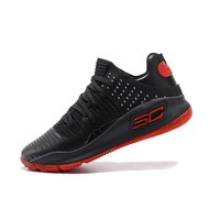 Best Deal Under Armour UA Men's SC30 Stephen Curry 4 Red Black Sport Sneaker