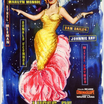 There's No Business Like Show Business (Spanish) 11x17 Movie Poster (1954)