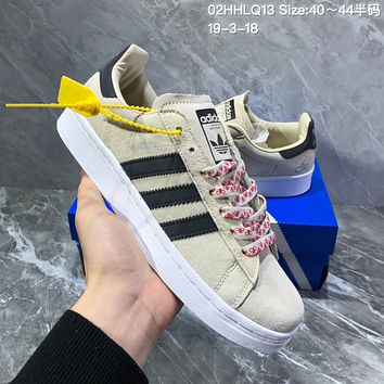 DCCK2 A957 Adidas Campus Bicycle Fashion Casual Skateboard shoes Khaki