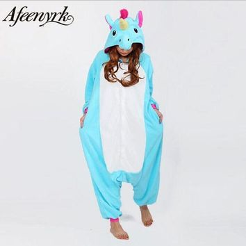 DCCKFV3 AFEENYRK unicorn Womens Soft comfortable Pajamas Set Sleepwear Loungewear Pyjamas Unisex Homewear For girl/ boys/Sleepwear Adult