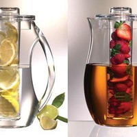 Rehydrate Pro Infuser Safe Clear Acrylic Fruit Herbs Infusion Pitcher