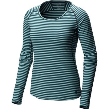 Butterlicious Stripe Crew - Women's