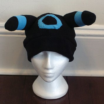 Shiny Umbreon Pokemon Fleece Hat